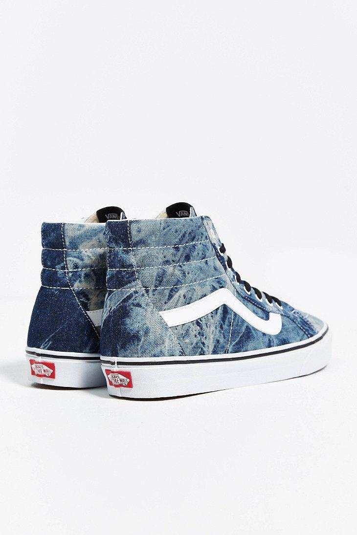 blue jean vans high top
