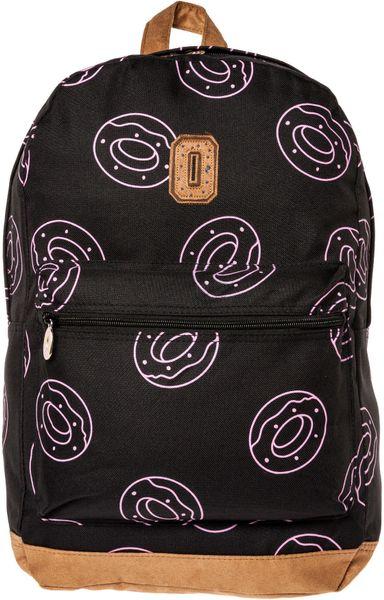 Odd Future The Allover Donut Backpack in Black for Men
