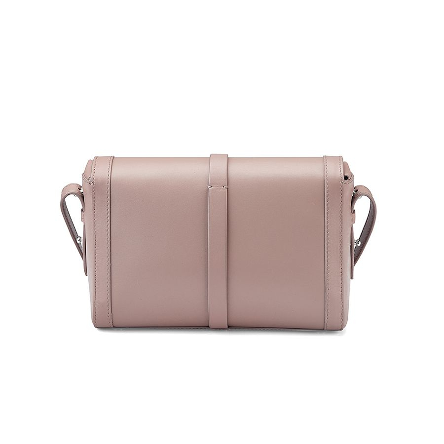 8939f156aeae Lyst - Aspinal Buckle Cross Body Bag in Natural