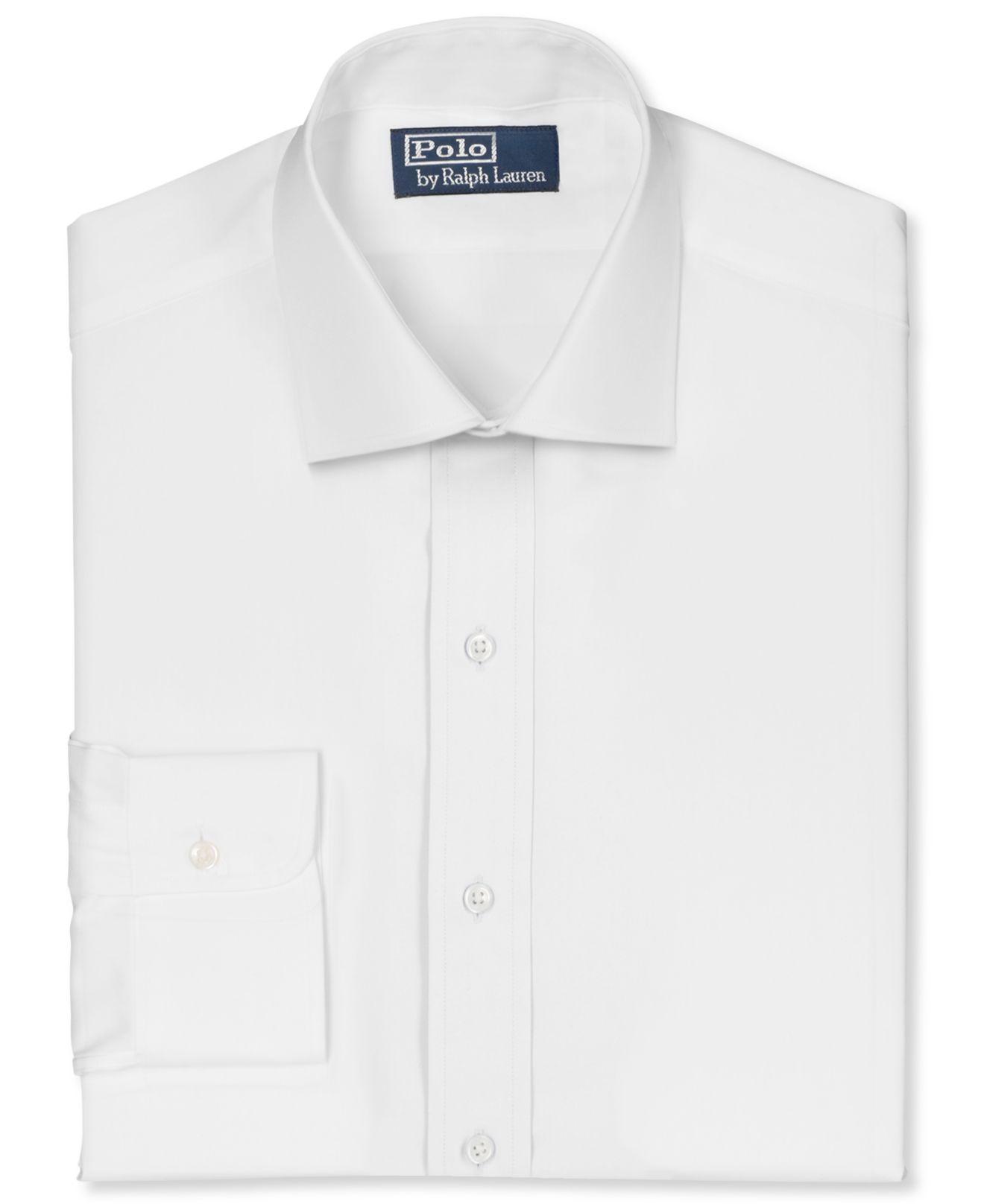 d959c18f32 Polo Ralph Lauren 80's English Poplin Regent Dress Shirt in White ...