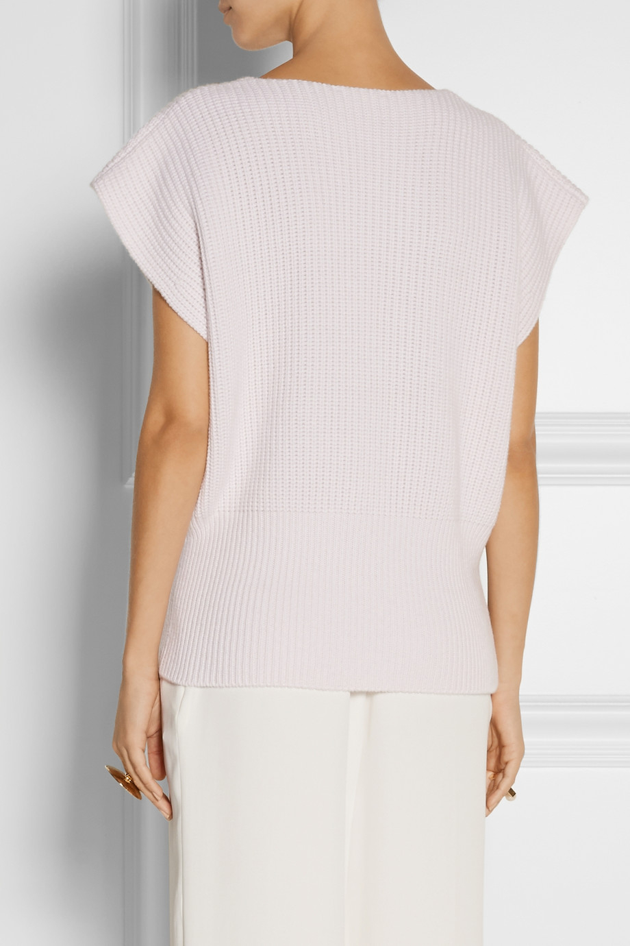Official Site Buy Online Cheap Ribbed Cashmere Sweater - Peach Chloé Cheap Discounts Discount Outlet Store Outlet With Paypal Order Online ZRuqP