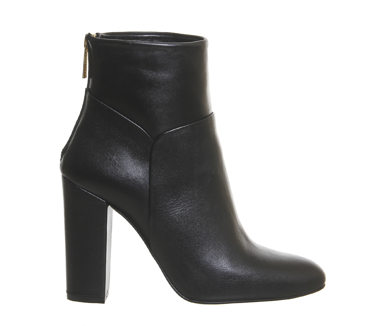 office premium bauhaus ankle boots in black lyst