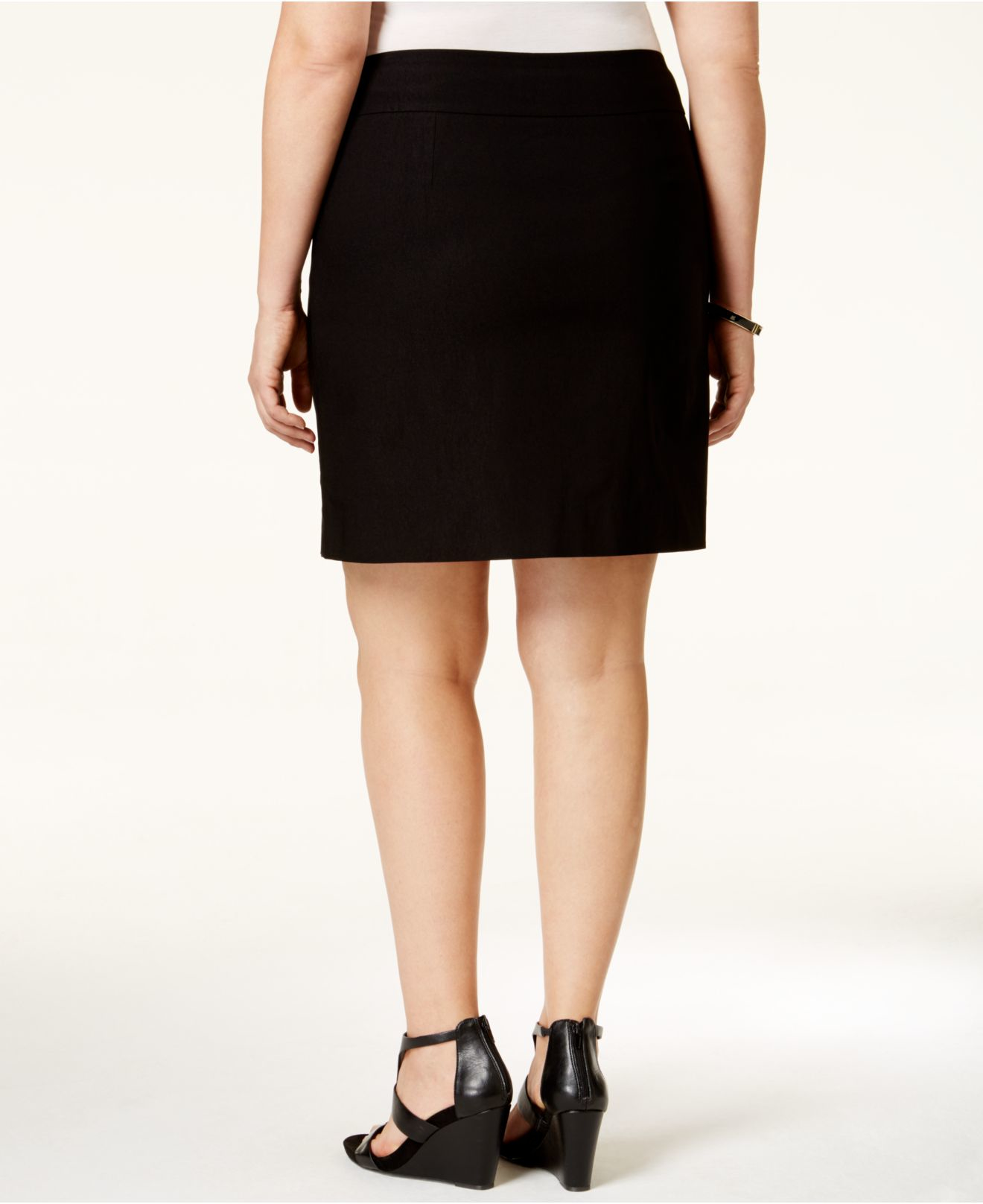 charter club plus size skort only at macy s in black lyst