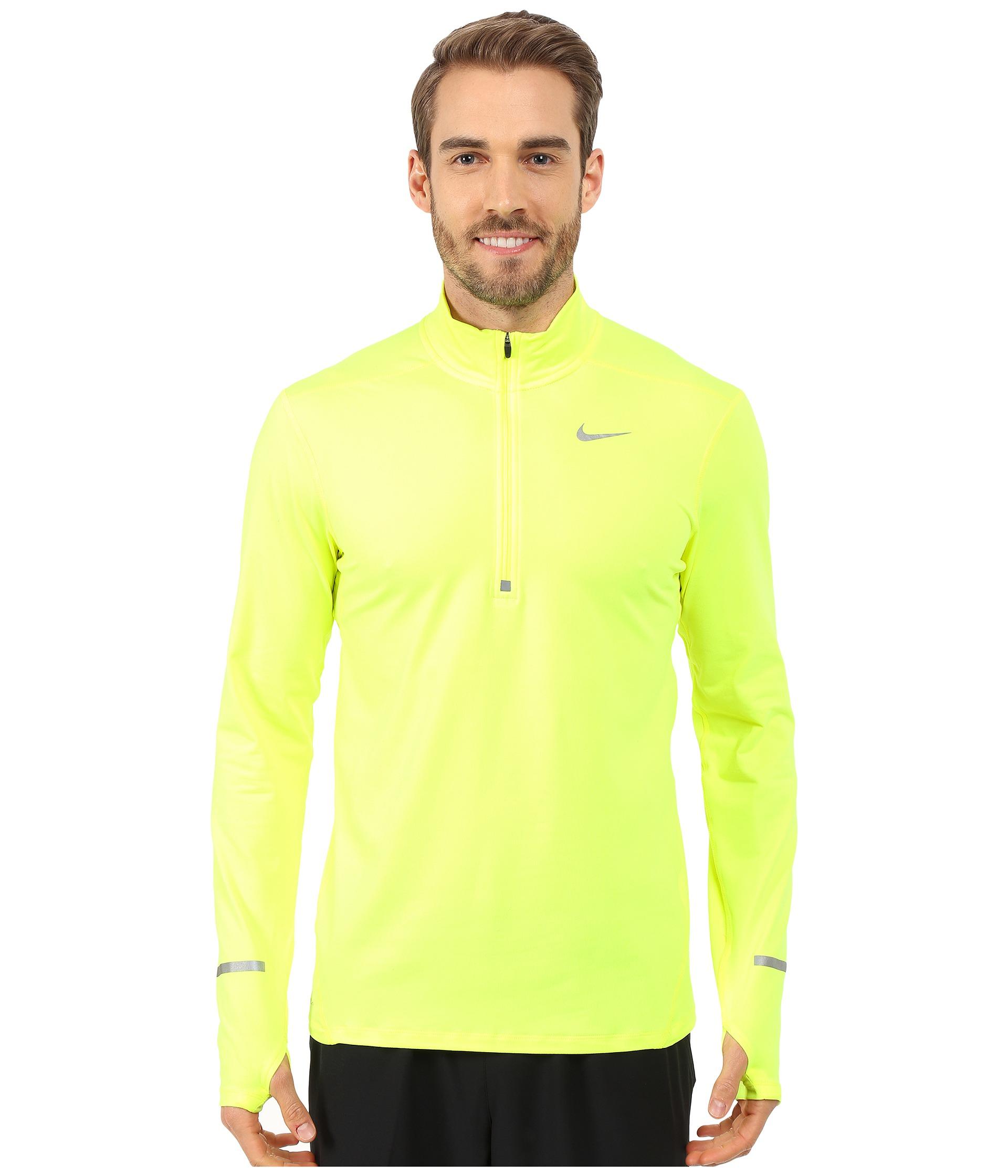 e05f62605e66 Lyst - Nike Dri-fit™ Element Half-zip Pullover in Metallic for Men
