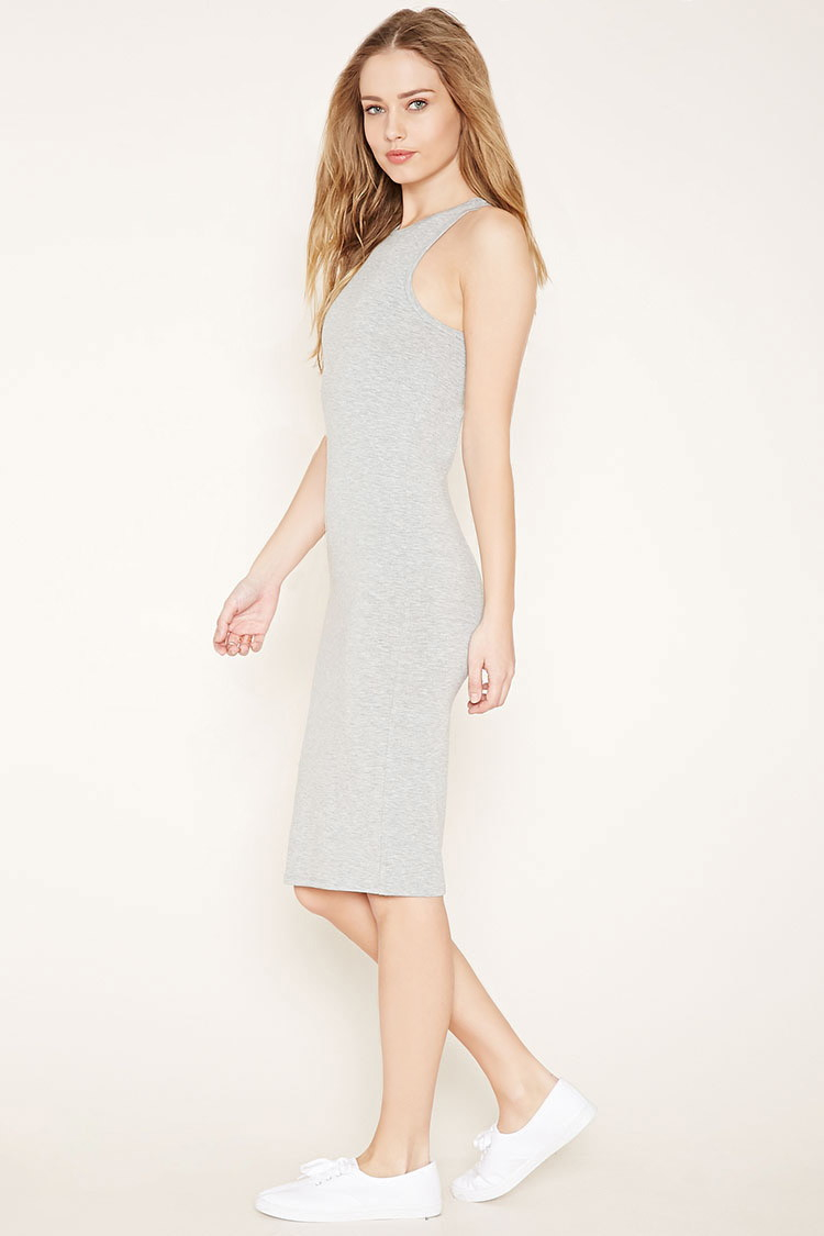 Plus light grey bodycon dress shop online for