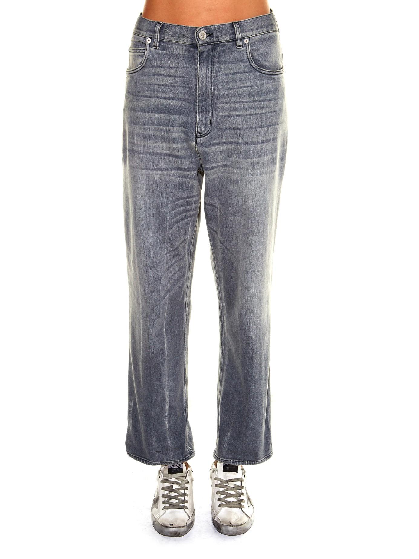 Denim Kim High-rise Straight-leg Jeans