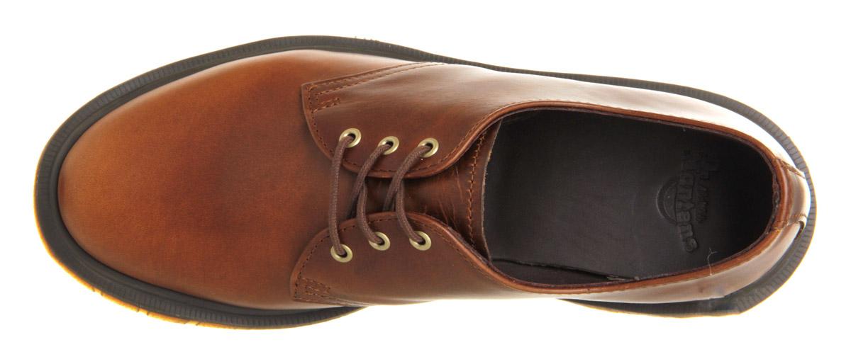 Dr Martens  Eyelet Shoe Smokethorn Brando Leather