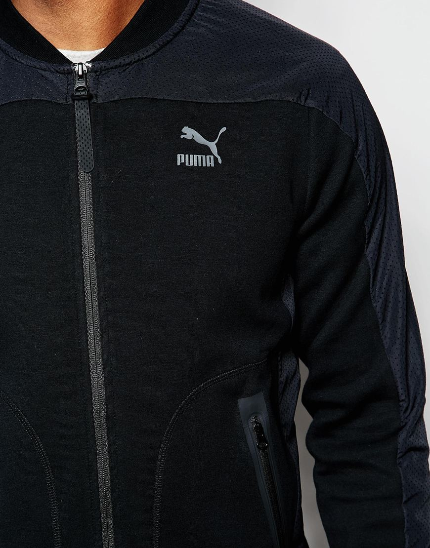 81847fa79d PUMA Black Evo Pierre Sweater for men
