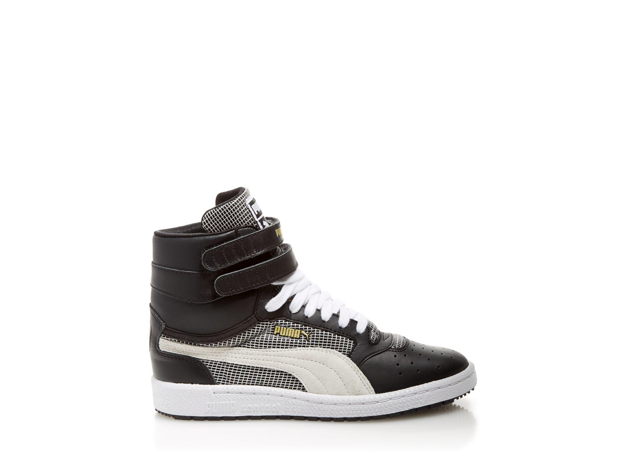 Puma High Top Sneakers Sky Ii Hi Blocks Amp Stripes In