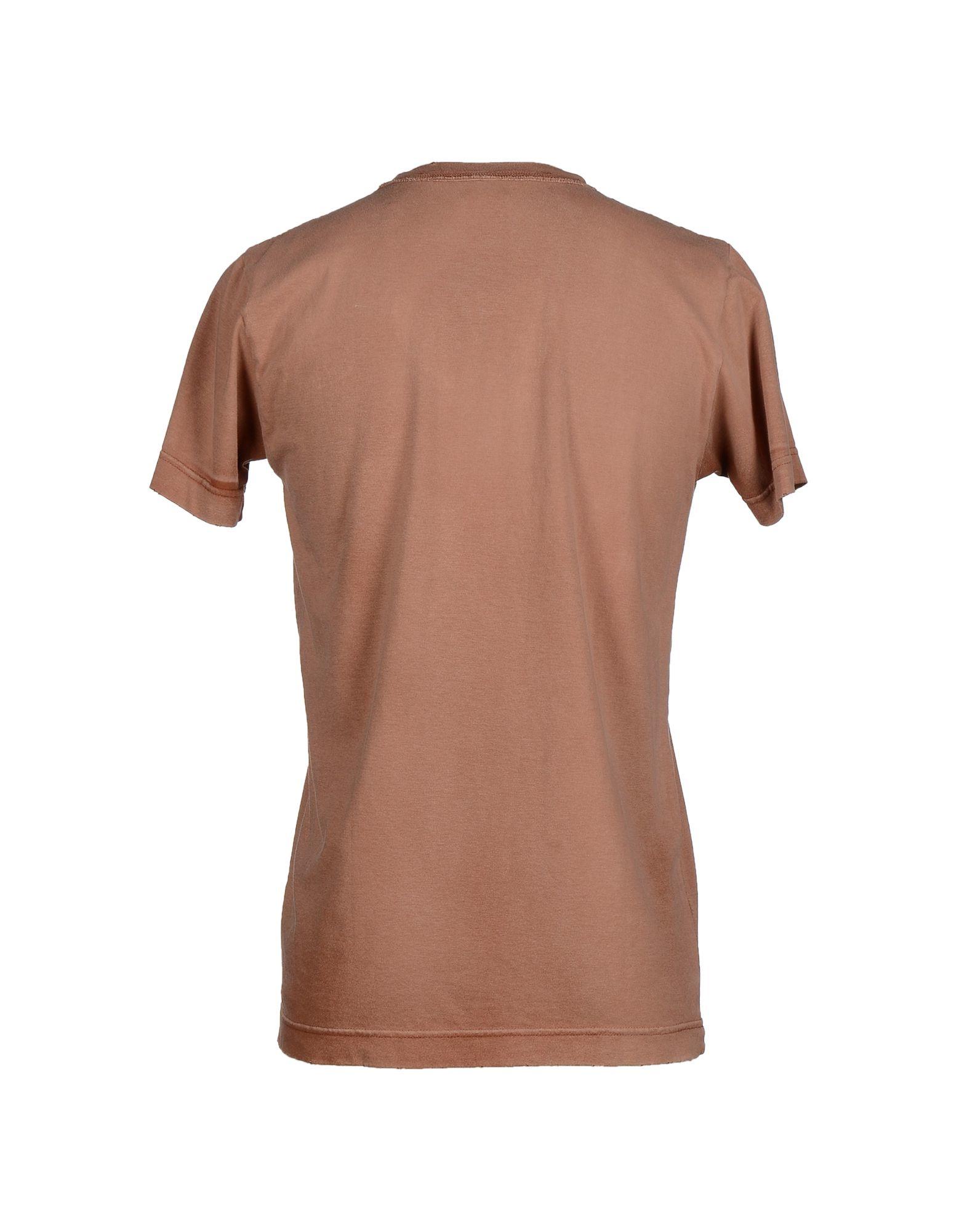 balmain t shirt in brown for men lyst. Black Bedroom Furniture Sets. Home Design Ideas