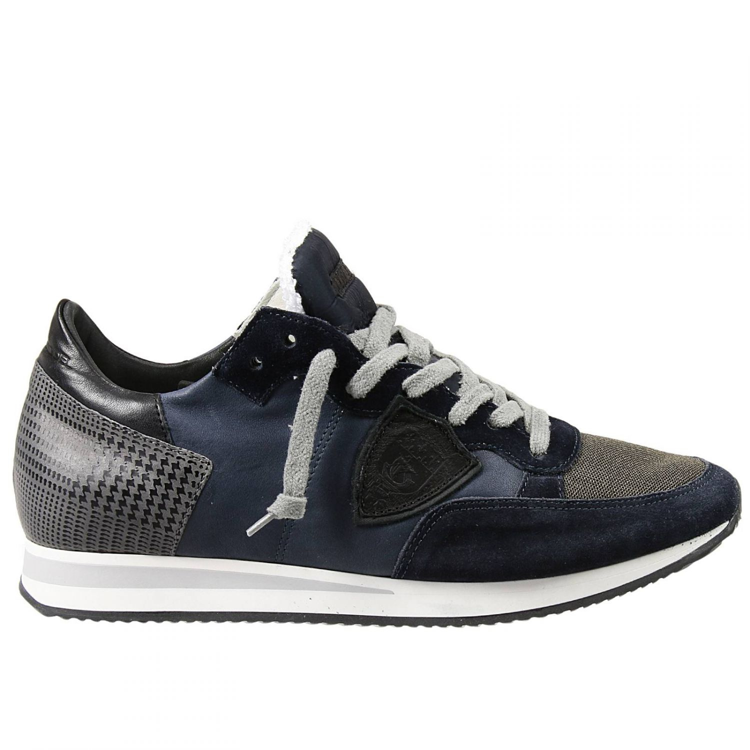 philippe model sneakers in blue for men lyst. Black Bedroom Furniture Sets. Home Design Ideas