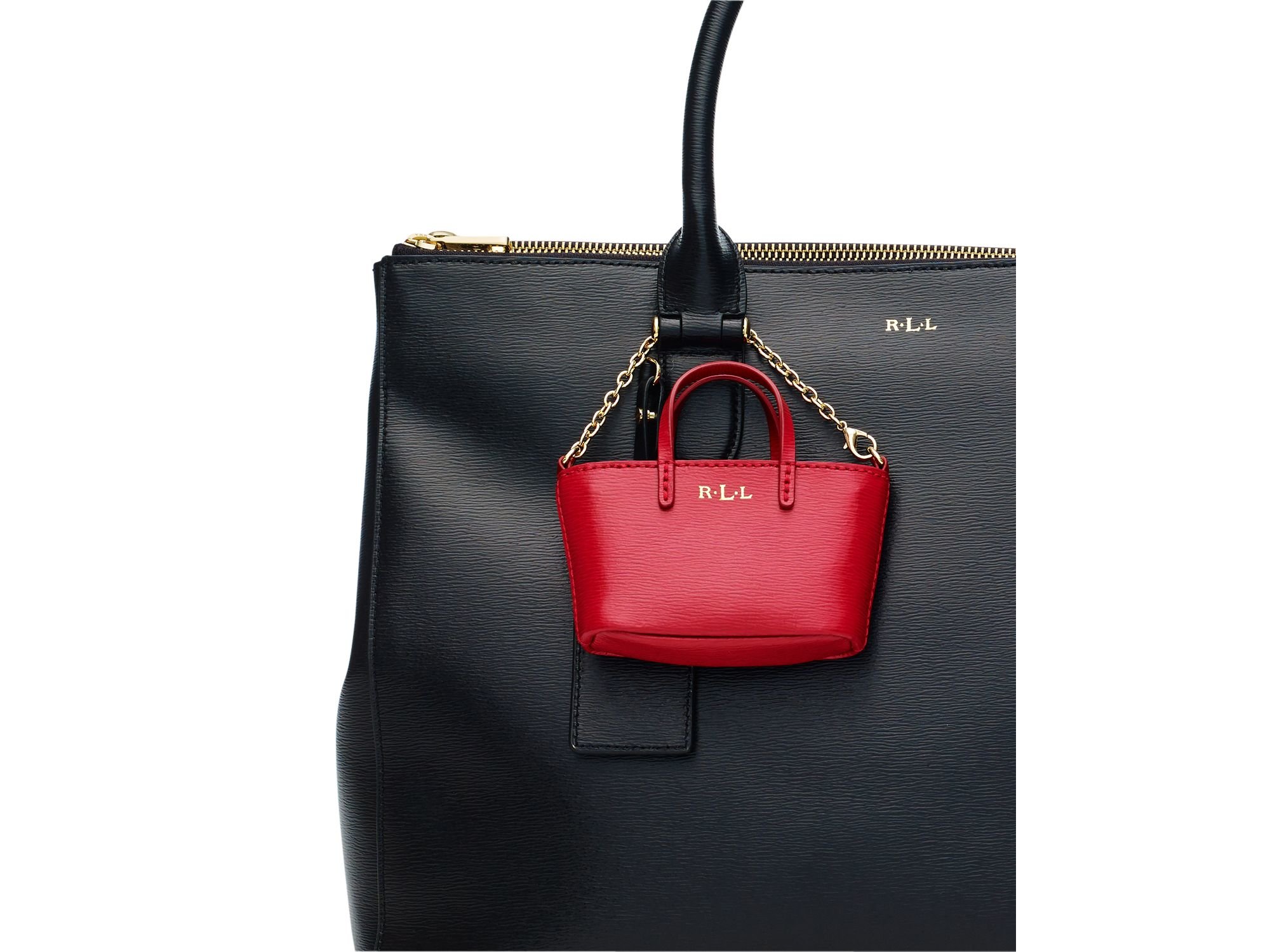Ralph Lauren Tote Laukku : Pink pony lauren mini tote bag charm in blue lyst