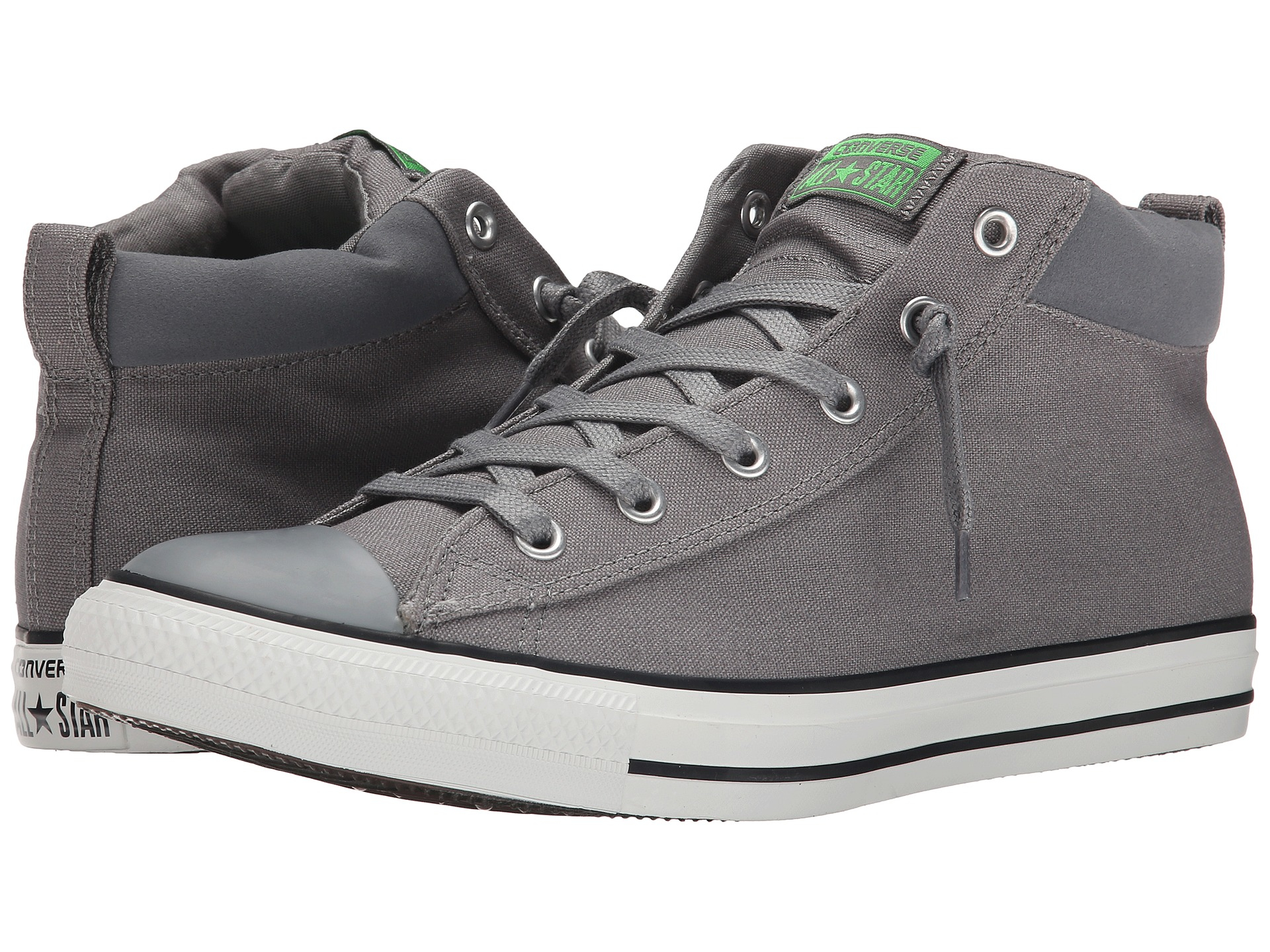 020739bef3f2 Lyst - Converse Chuck Taylor® All Star® Street Mid in Gray