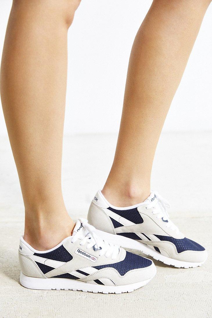 reebok womens classic nylon running shoe