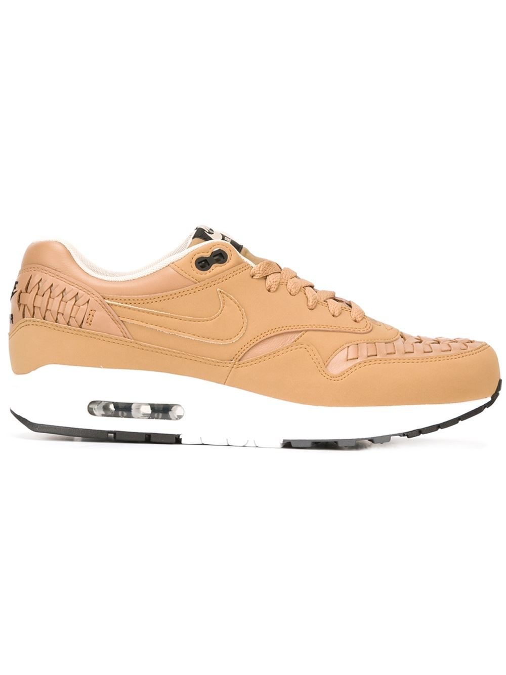 Nike Air Max 1 Sneakers In Beige For Men Nude Amp Neutrals Lyst