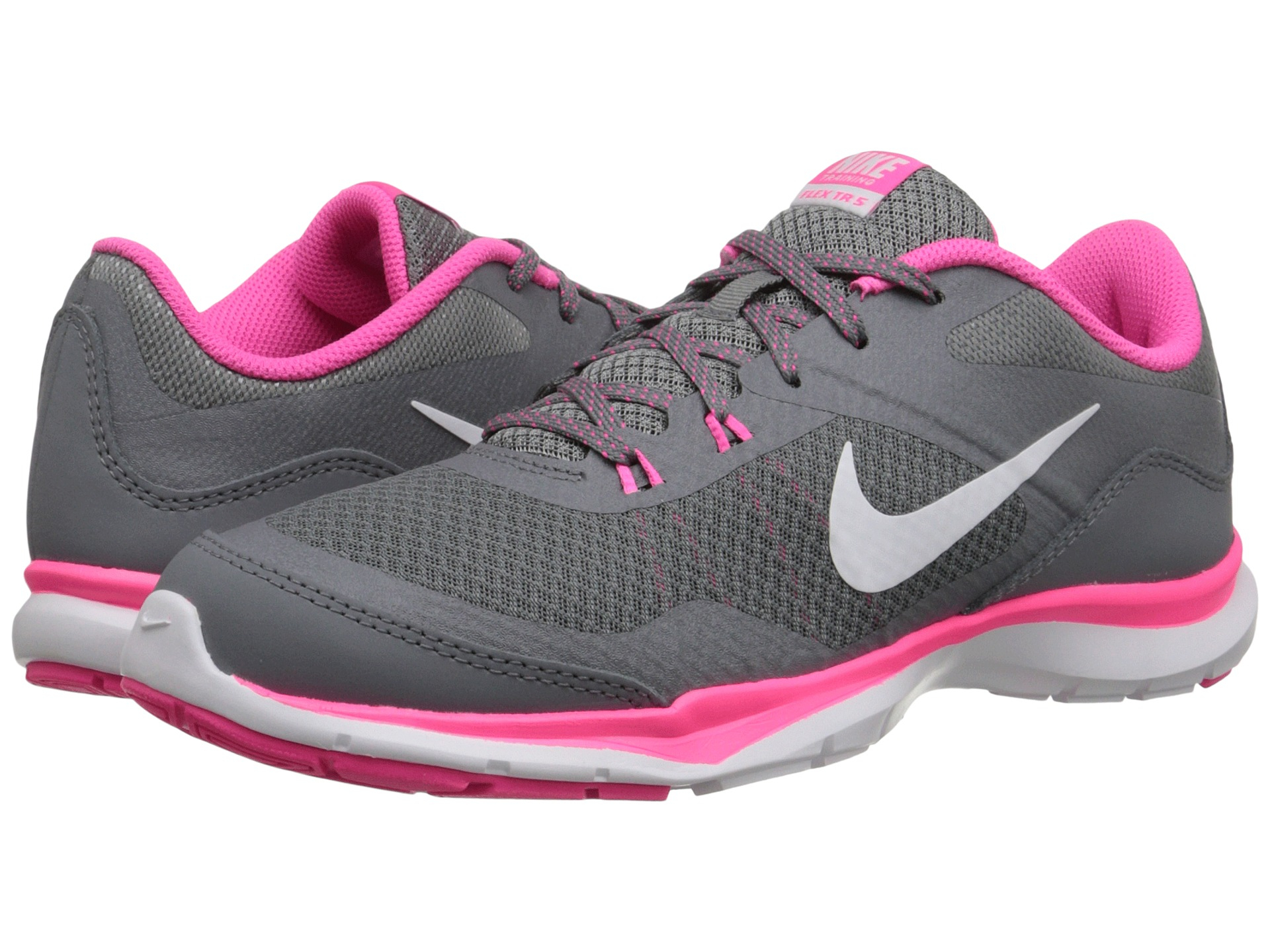 Lyst Nike Flex Trainer 5 In Pink