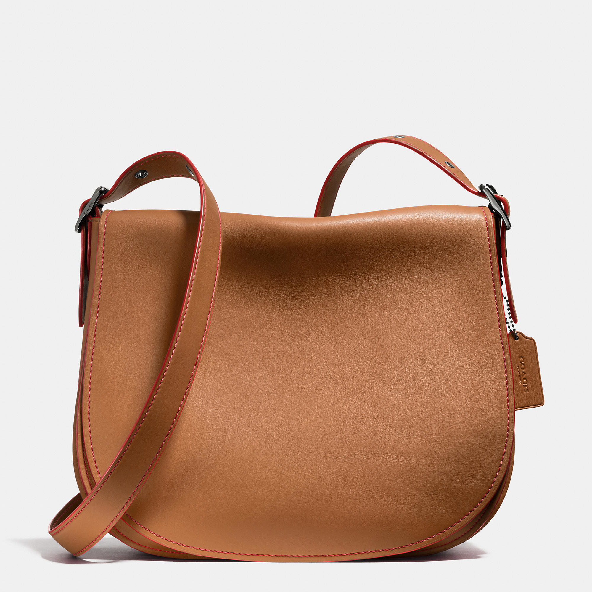 Coach Saddle Bag 35 In Glovetanned Leather in Brown | Lyst Saddle Bag