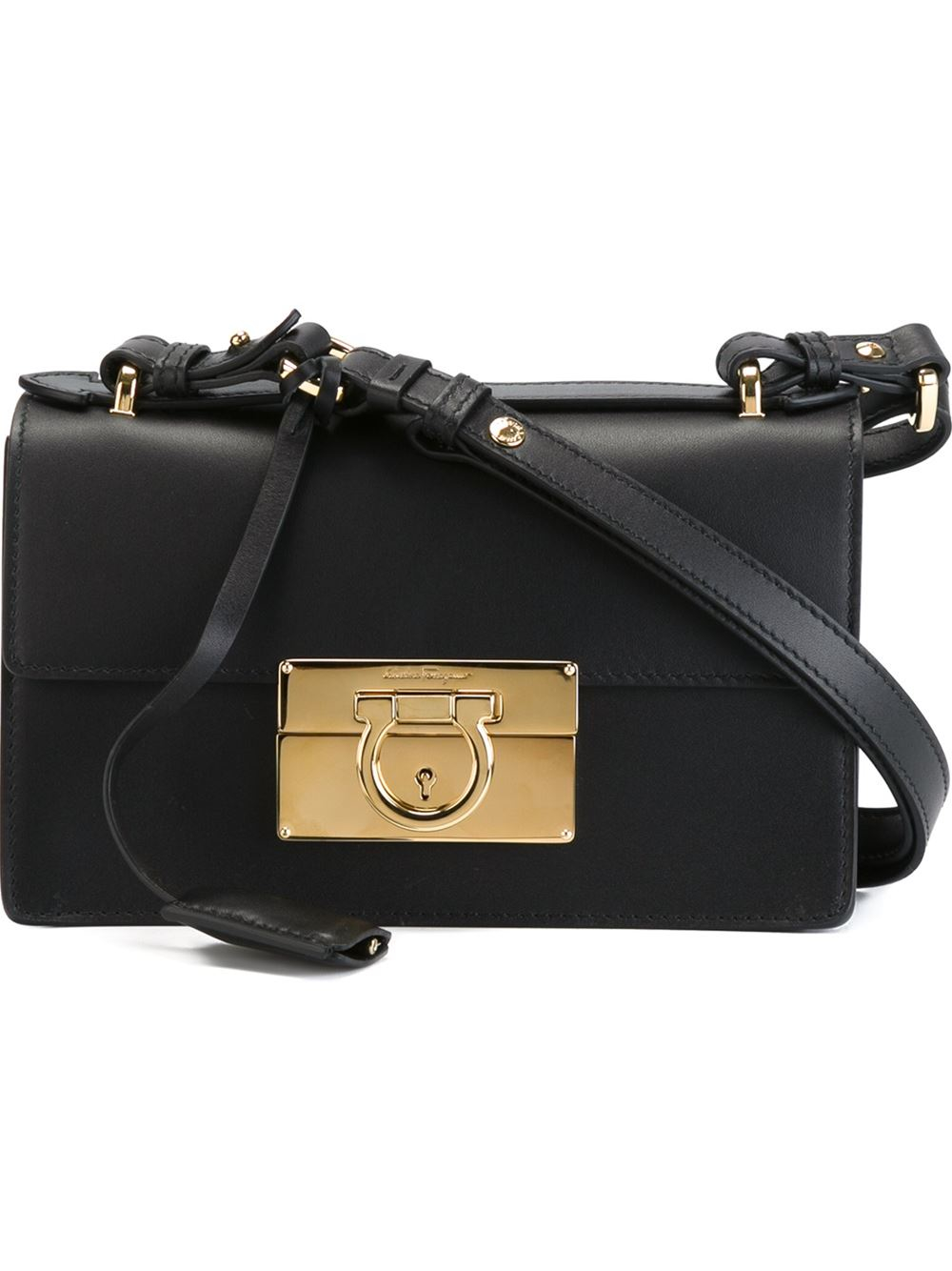 Ferragamo aileen shoulder bag in black lyst jpg 1000x1334 Salvatore  ferragamo black handbags 4d47d910abce5