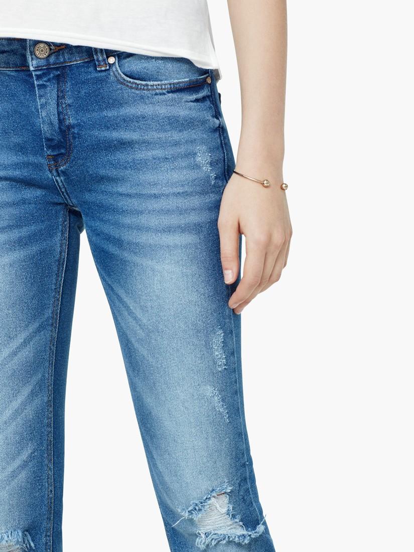 Mango Denim Bootcut Cara Jeans in Blue