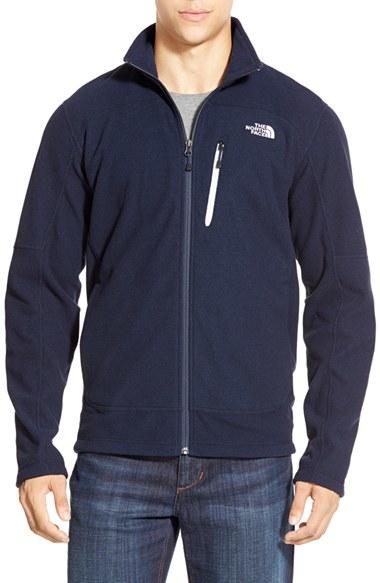 aff13c2df The North Face Blue 'texture Cap Rock' Fleece Jacket for men