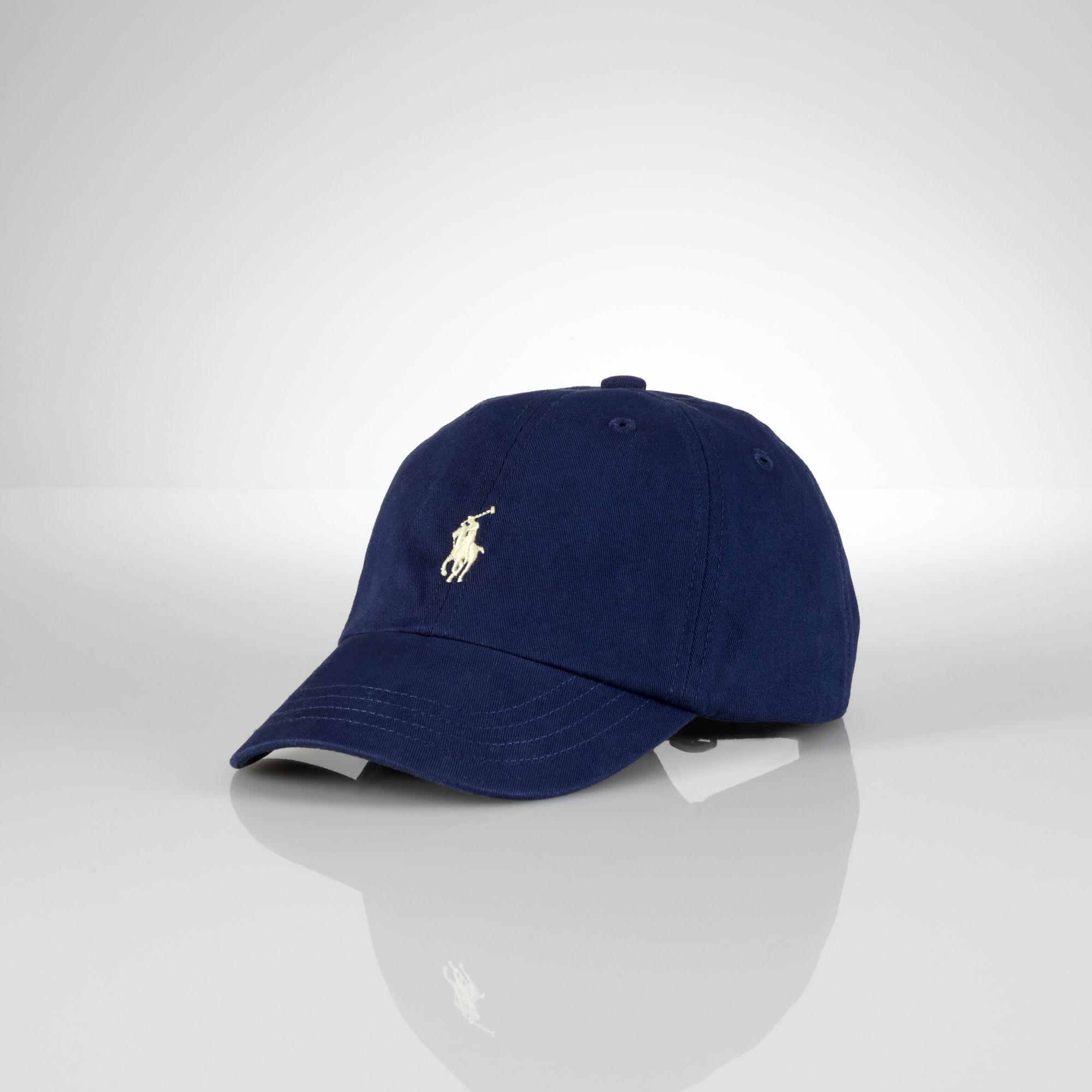 95027efcbc7 Ralph Lauren Classic Pony Baseball Cap in Blue for Men - Lyst