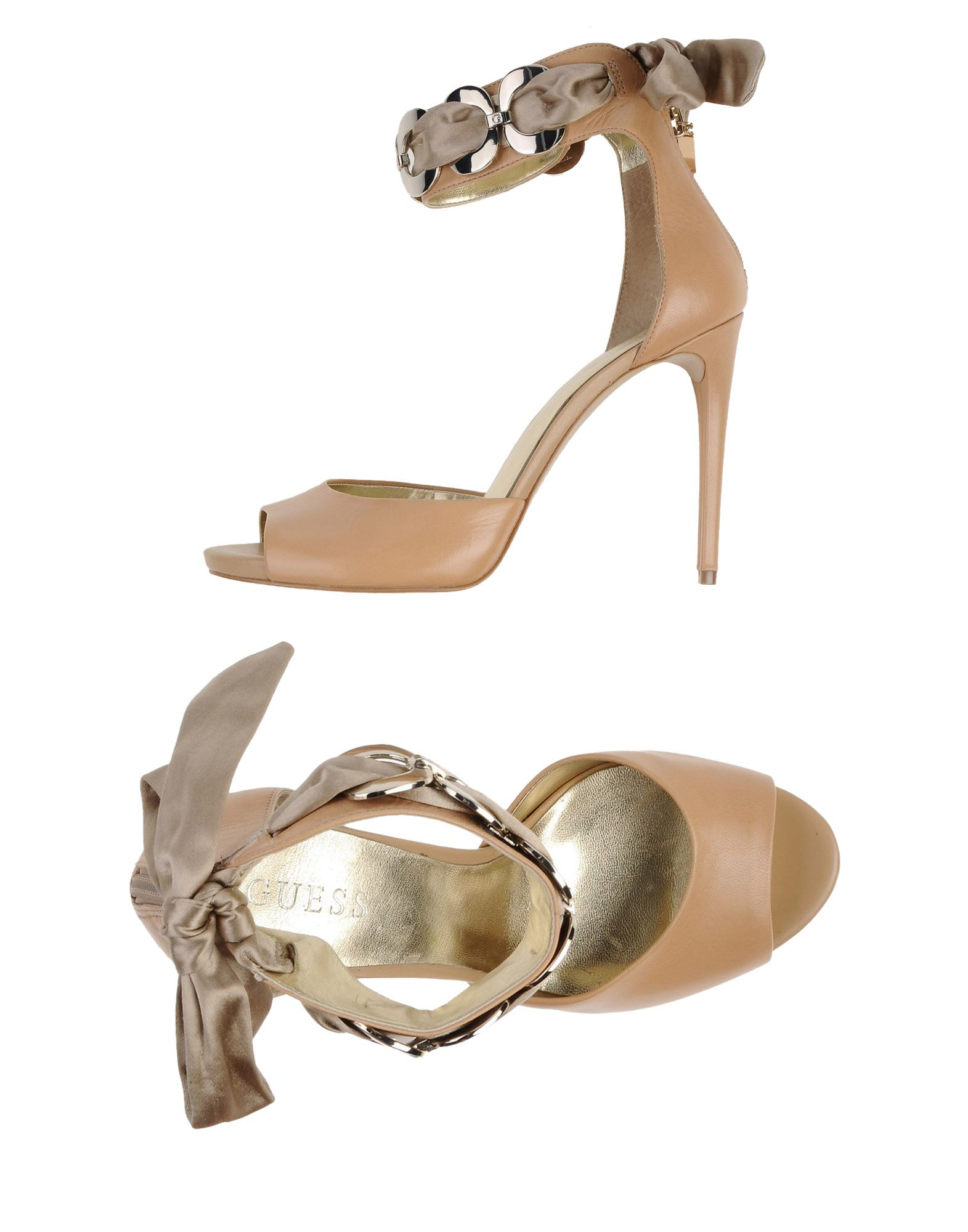 55c5cba0366ab Lyst - Guess Sandals in Natural