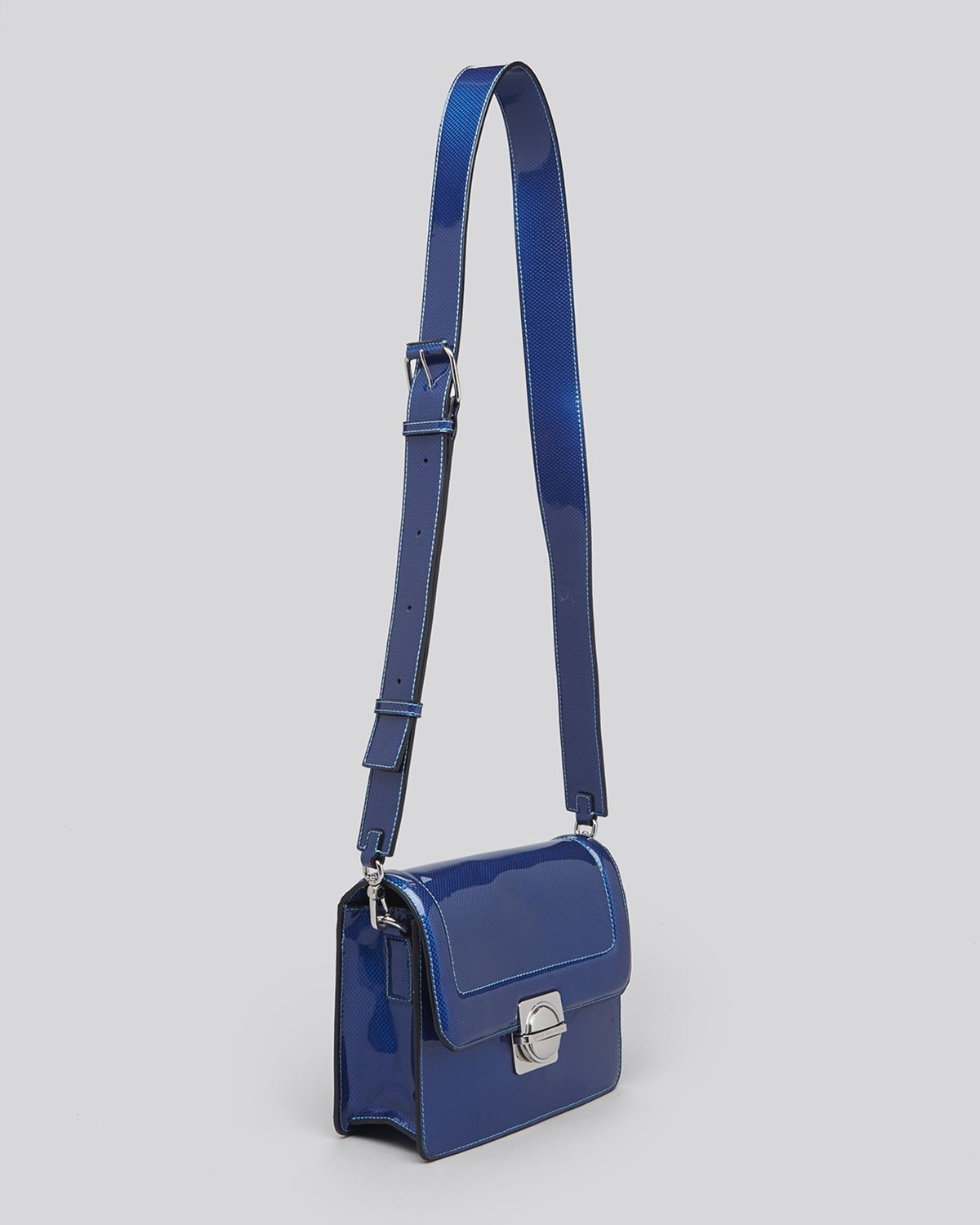 Marc By Marc Jacobs Crossbody - Top Schooly Reflector Messenger in Blue