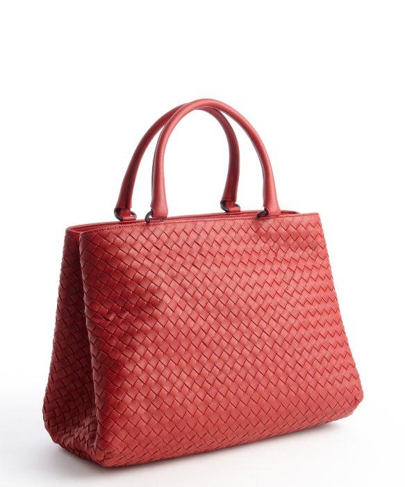 Bottega Veneta Intrecciato Leather Tote Bag