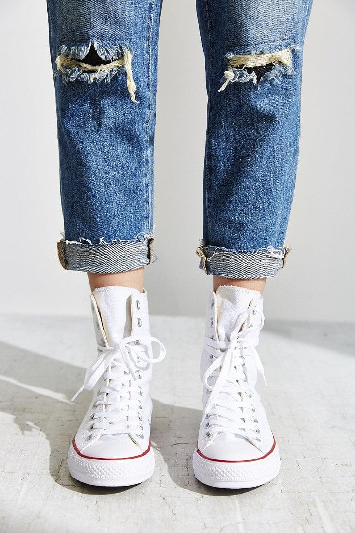 d56cb857c82eb Converse White Chuck Taylor All Star High Rise Sneaker