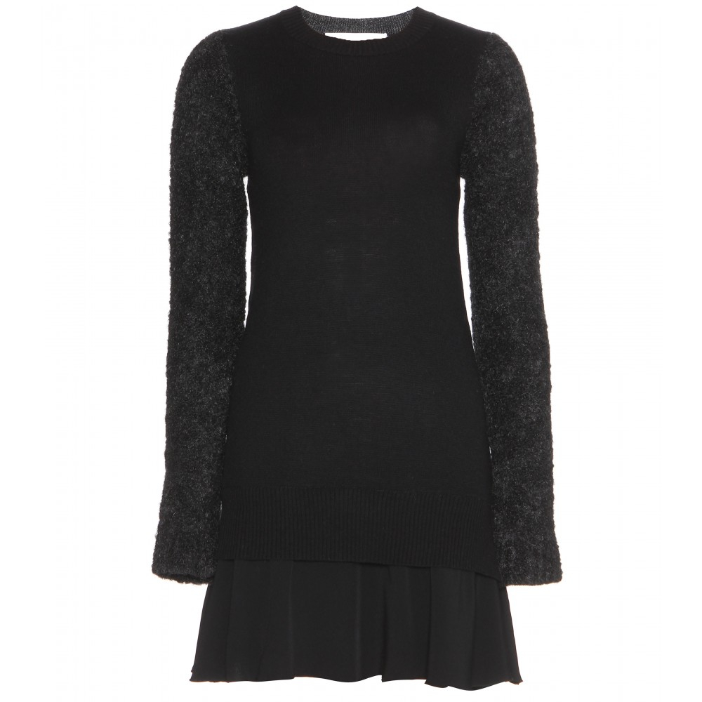 Victoria, Victoria Beckham Wool And Cashmere-Blend