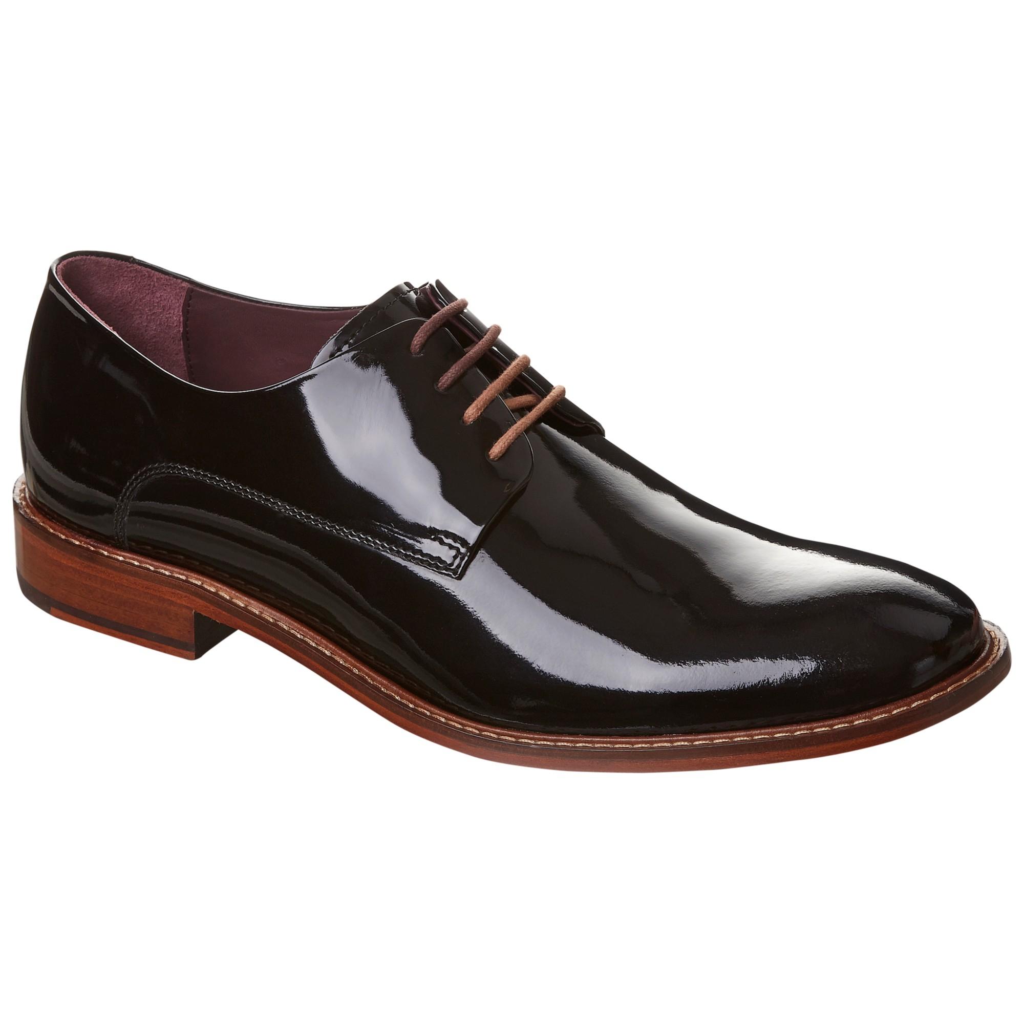 Asos Black Leather Derby Shoes
