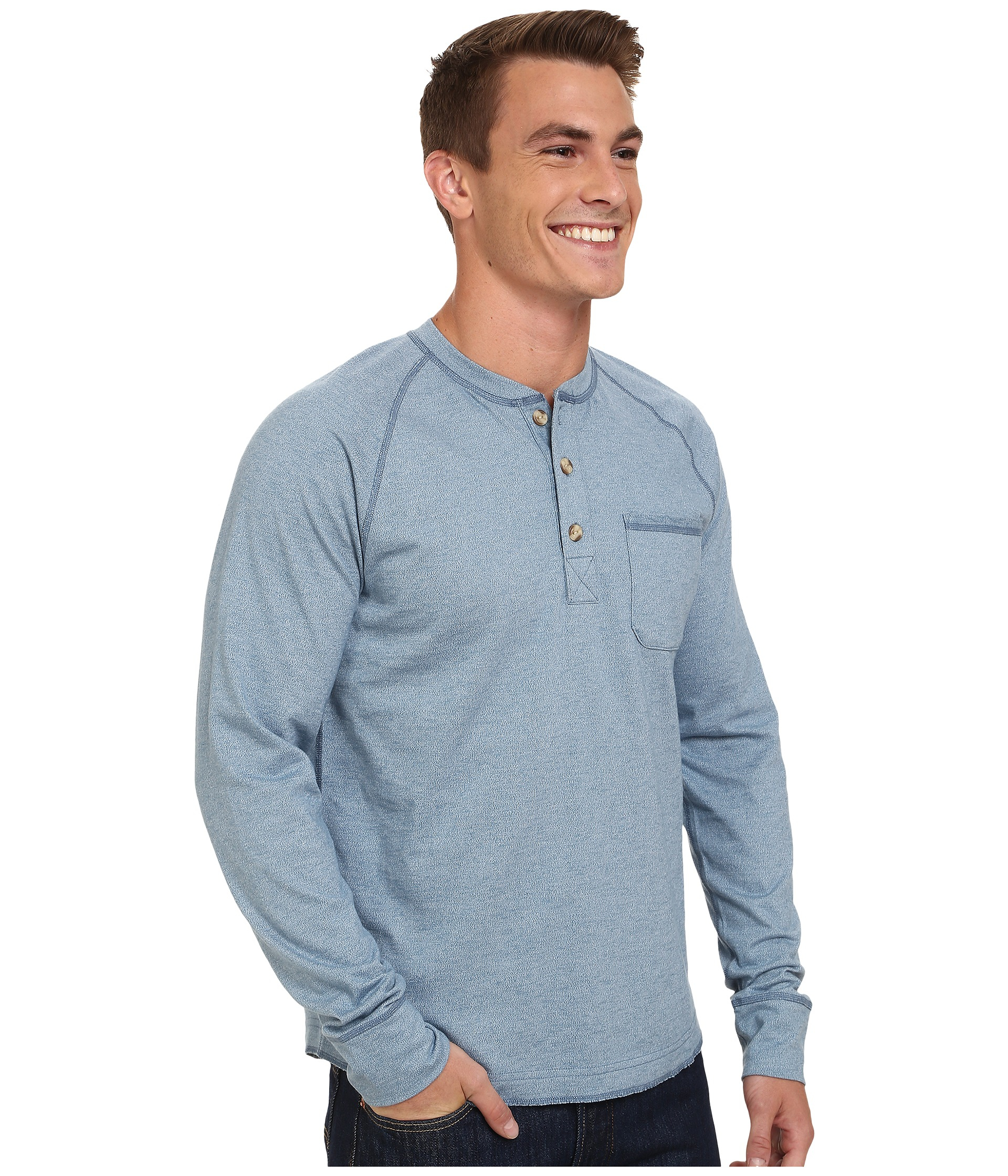 Shop long sleeve henley shirt at Neiman Marcus, where you will find free shipping on the latest in fashion from top designers.