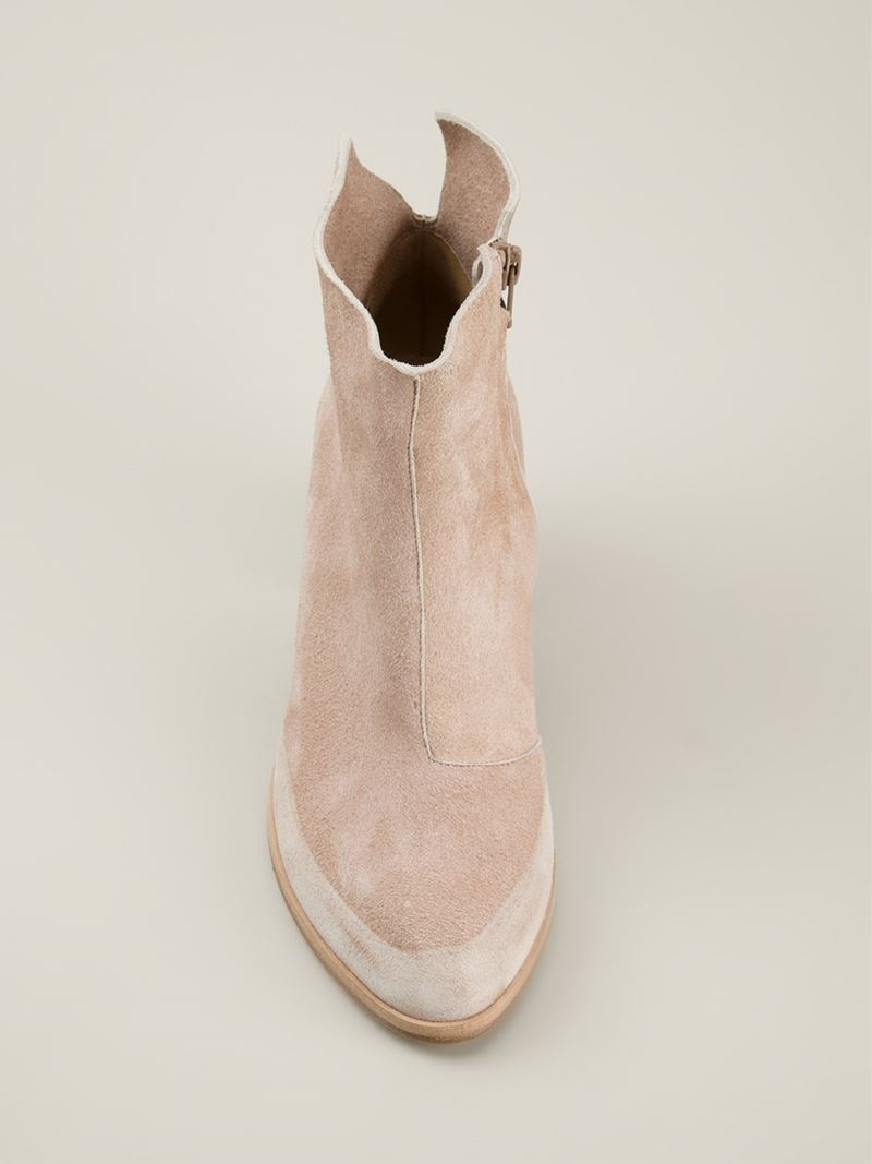 Coclico Ankle Boots in Natural