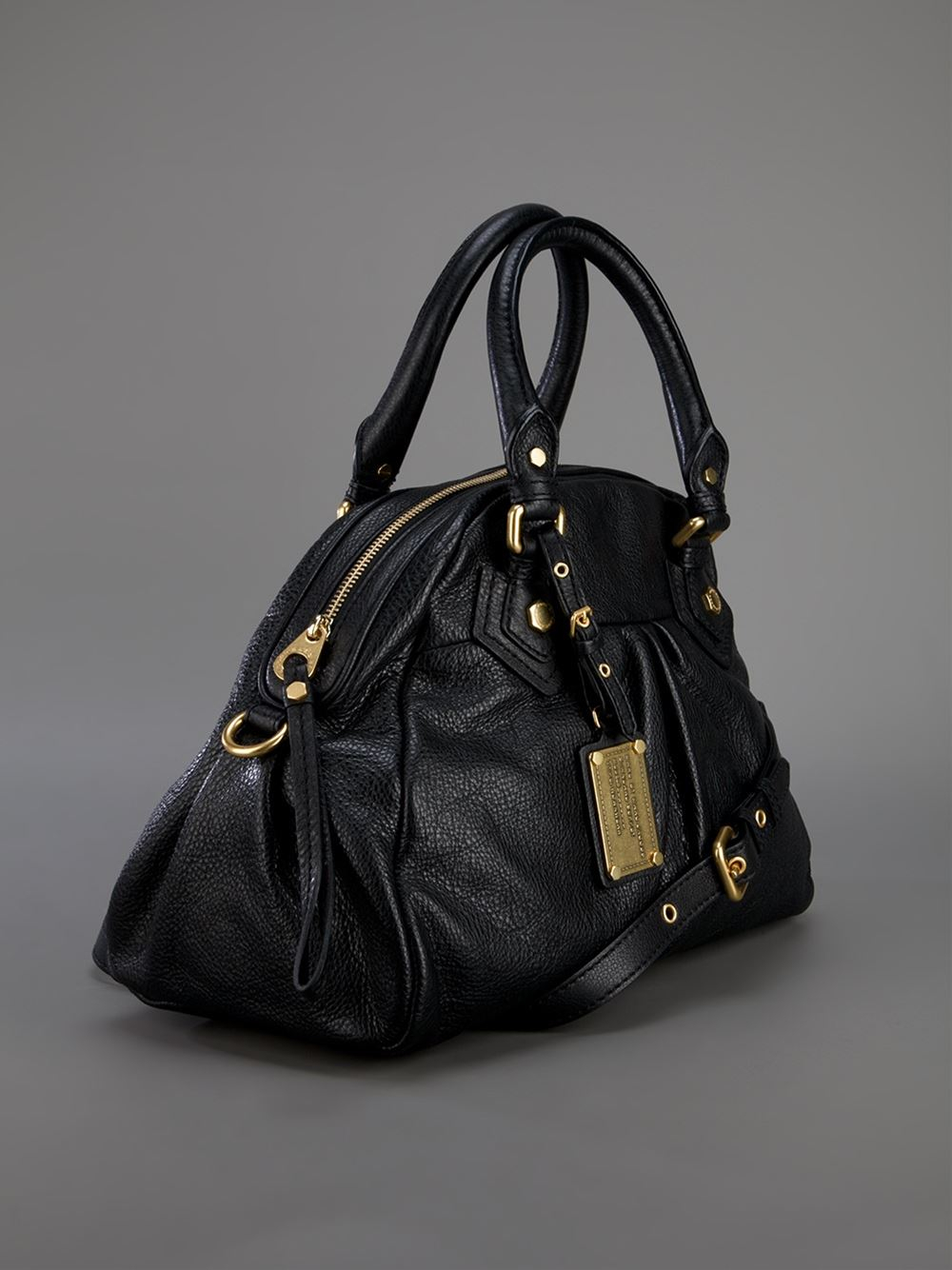 Marc By Marc Jacobs Classic Q Baby Aidan Tote In Black