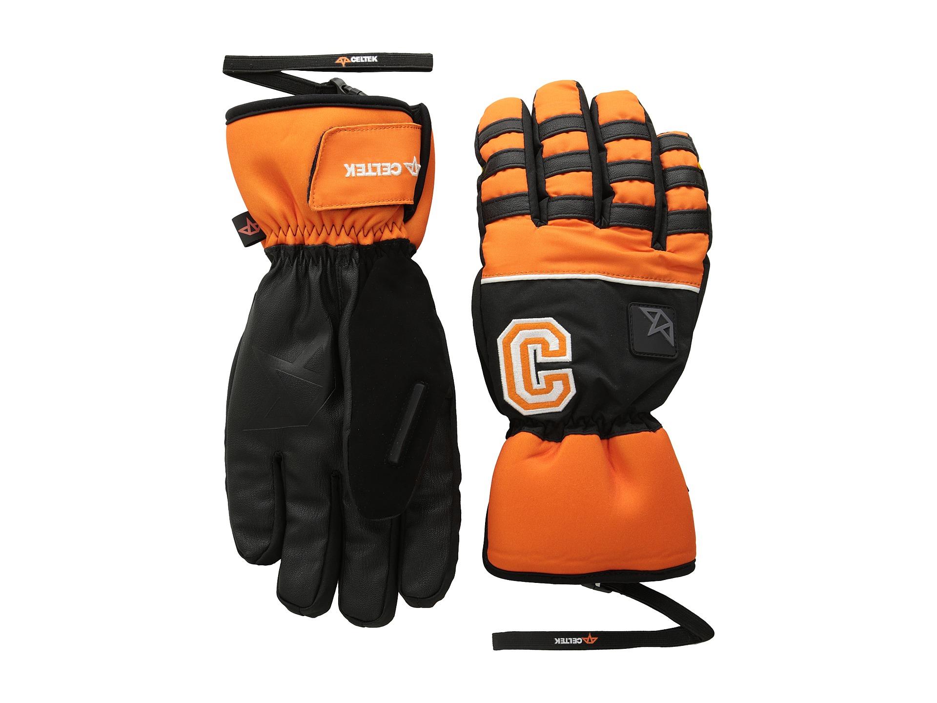 29782a40ce4ce8 Lyst - Celtek Ace Gloves in Orange for Men