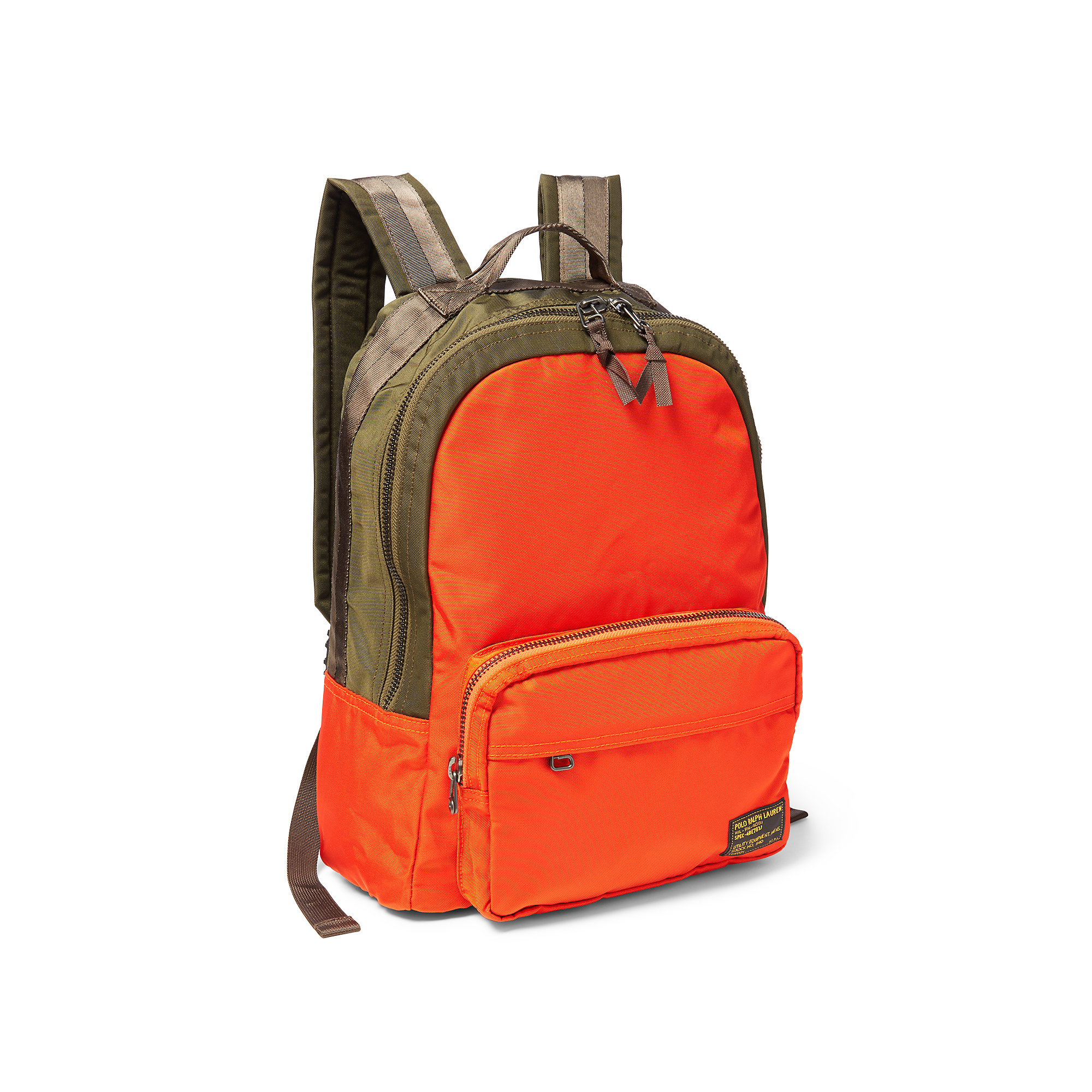 Lyst - Polo Ralph Lauren Military Nylon Dome Backpack in Green for Men 59d92cbe46f90