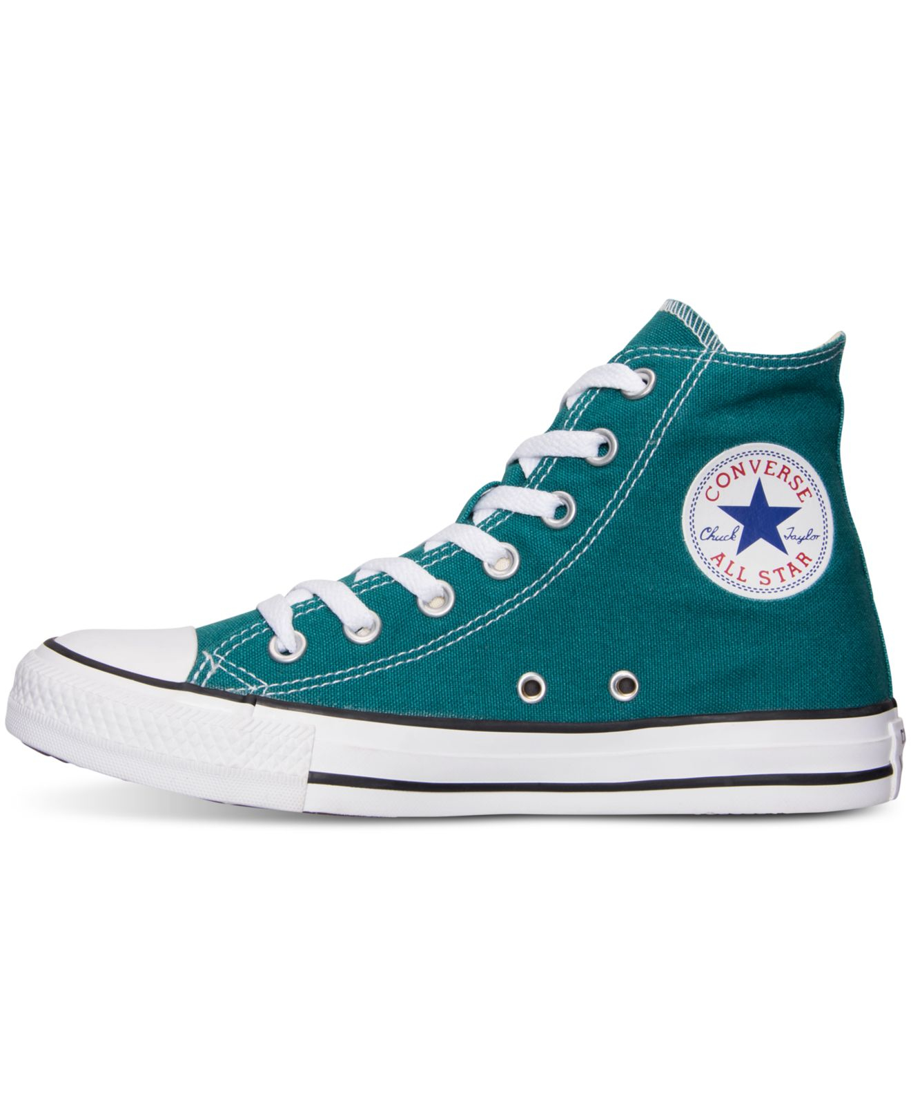 0c16ec3a2a ... best lyst converse womens chuck taylor hi casual sneakers from finish  b046a 1240d authentic mens ...