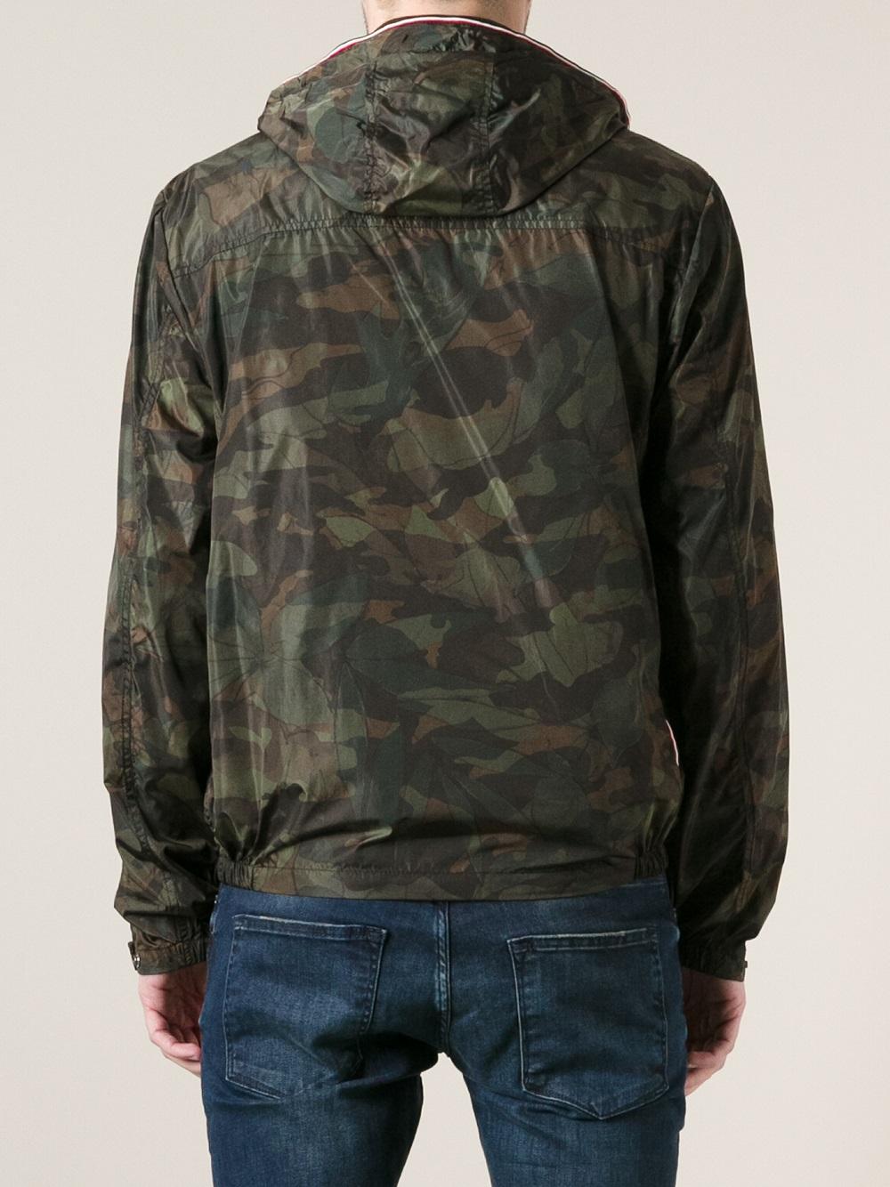 moncler green camo jacket