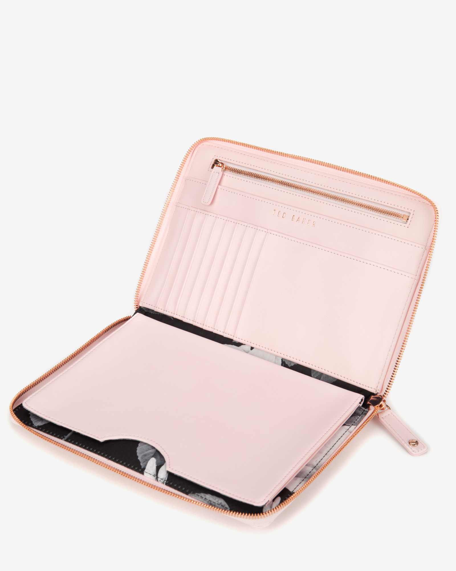 newest collection e36d4 9321b Ted Baker Pink Patent Mini Tablet Case