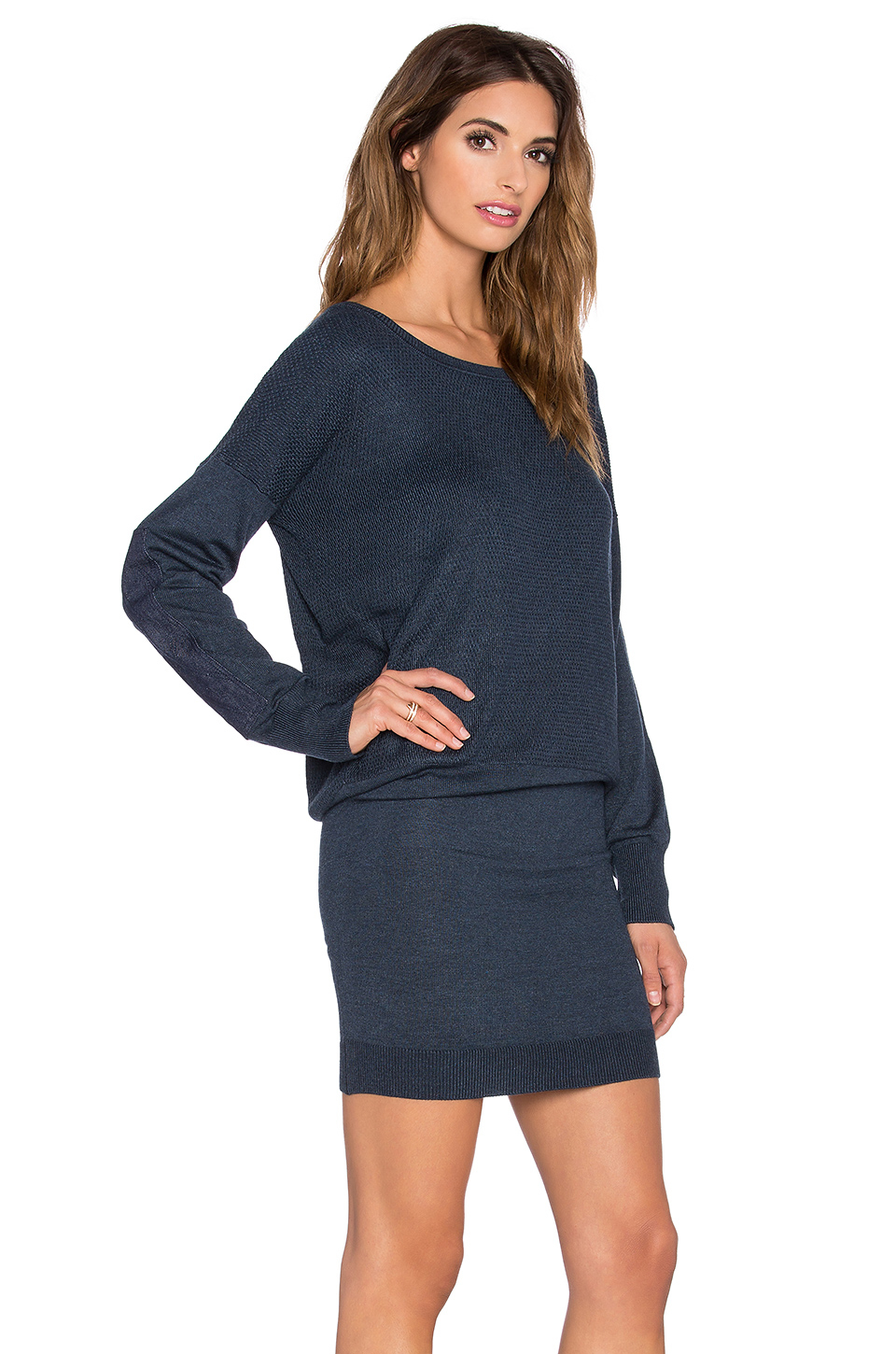 g star raw becka sweater dress in blue lyst. Black Bedroom Furniture Sets. Home Design Ideas