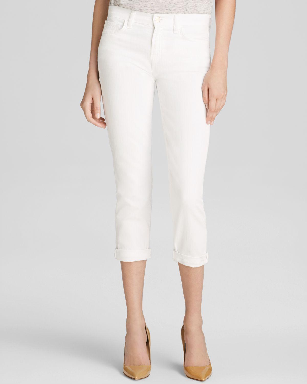 J brand mid rise slim boy fit jeans