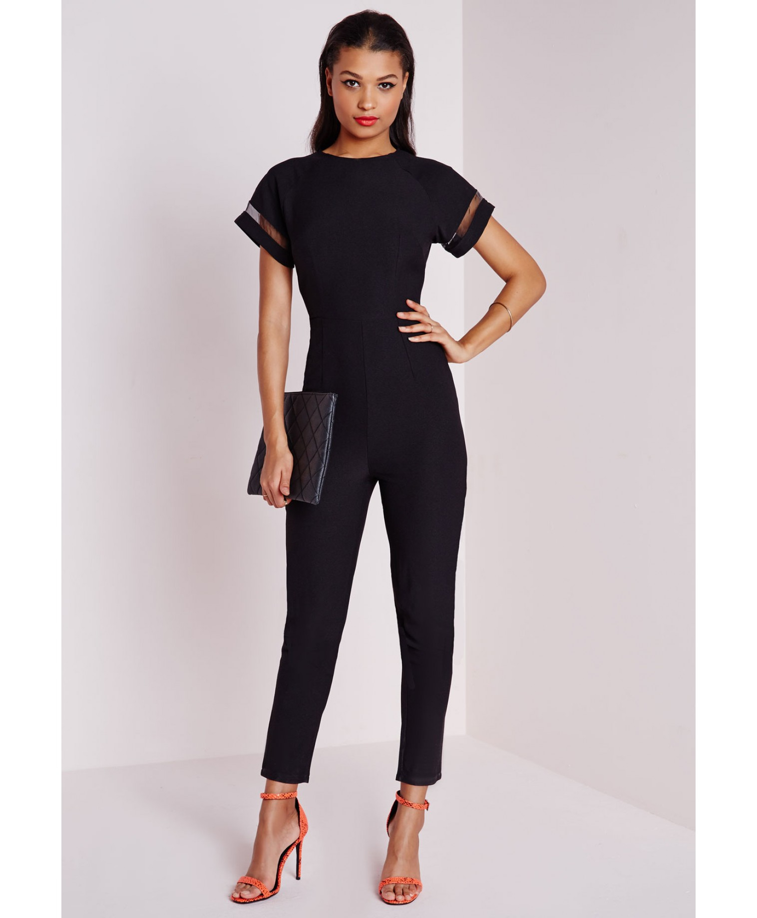 Playsuits and Jumpsuits We can't get enough of all-in-one playsuits and jumpsuits for new season styling. A cropped leg is key for the jumpsuit, with slouchier silhouettes calling for strappy details and a .