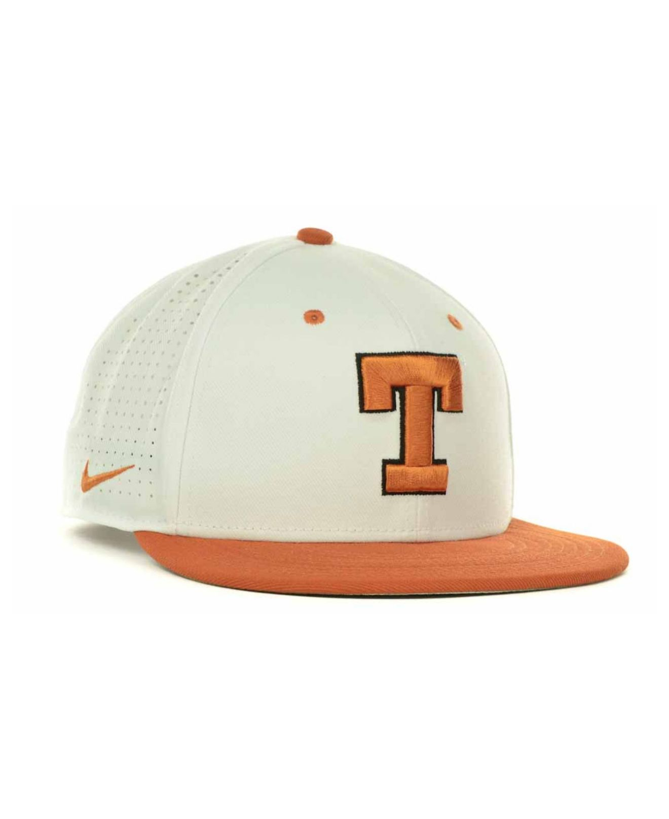 664194016da ... snapback adjustable hat fc35f 4815d  new arrivals lyst nike texas  longhorns ncaa authentic vapor fitted cap in white 1c5a6 2f4d2