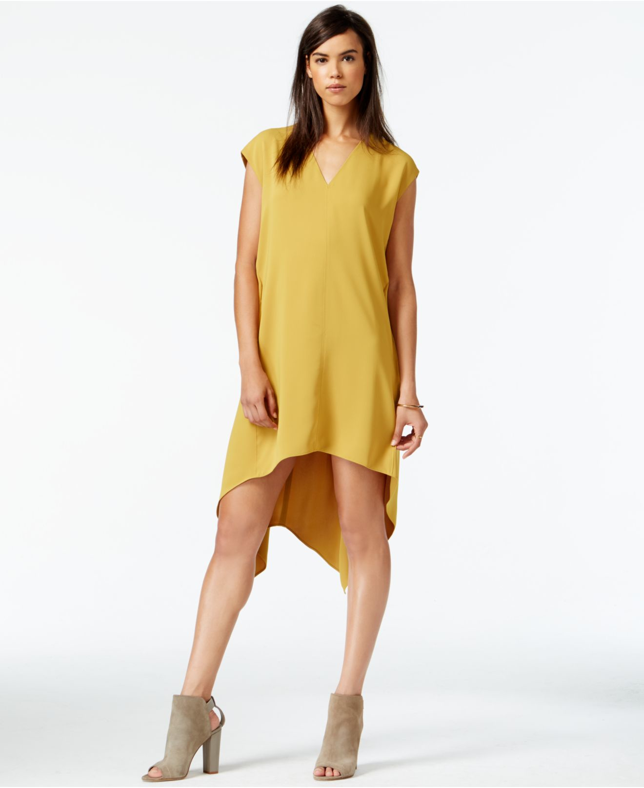 Rachel roy mixed color halter dress