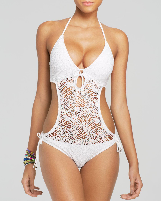 polo mesh ralph lauren ralph lauren crochet swimwear
