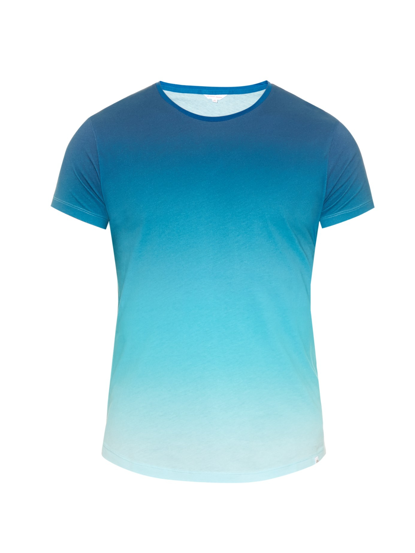 Lyst Orlebar Brown Ob T Ombr 233 Jersey T Shirt In Blue For Men