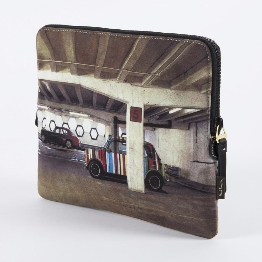 paul smith mini and bristol print ipad case in brown for men lyst. Black Bedroom Furniture Sets. Home Design Ideas