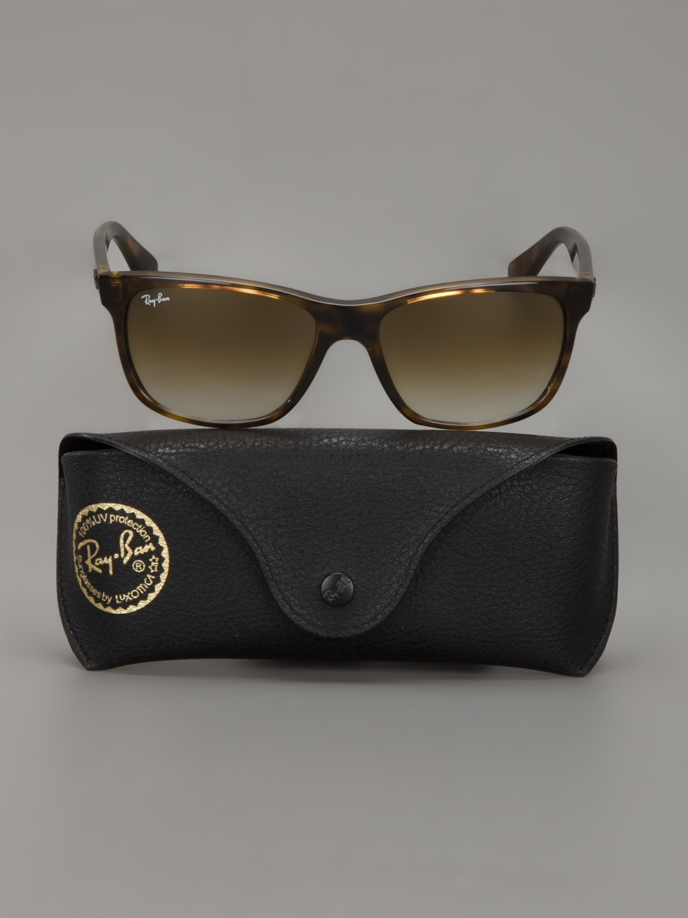 Ray Ban Tortoise Shell Sunglasses In Brown For Men Lyst