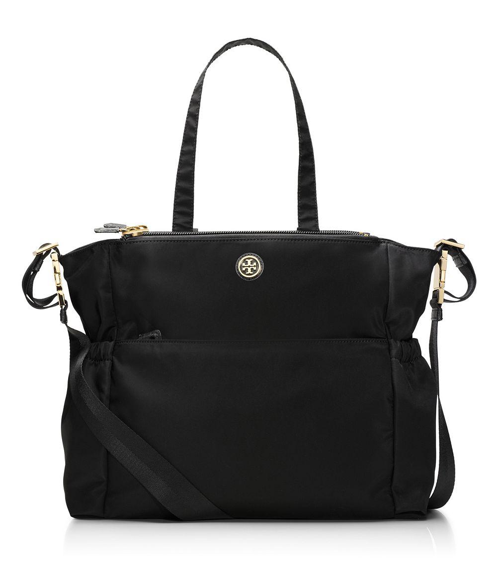 Tory Burch Travel Nylon Baby Bag In Black Lyst