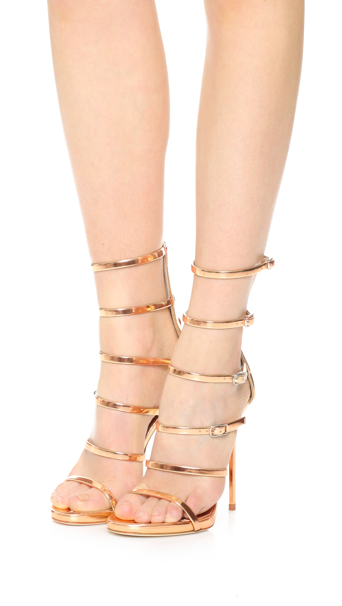 Giuseppe Zanotti Strappy Sandals In Pink - Lyst-2555